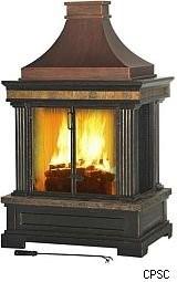 Nj garage doors for Modular outdoor fireplace